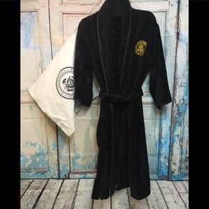 Trump Presidential Black Luxurious Terry Robe Bag